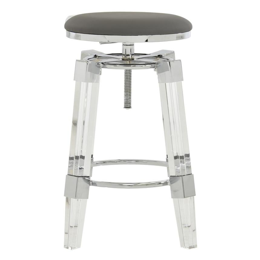 Julie Gray Adjustable Stool  main image, 1 of 5 images.