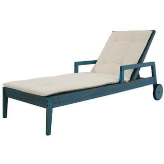 Nassau Blue Chaise Lounge Made in Brazil