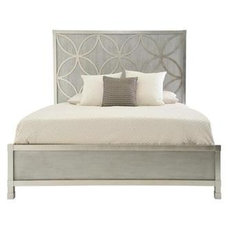 Chic King Panel Bed