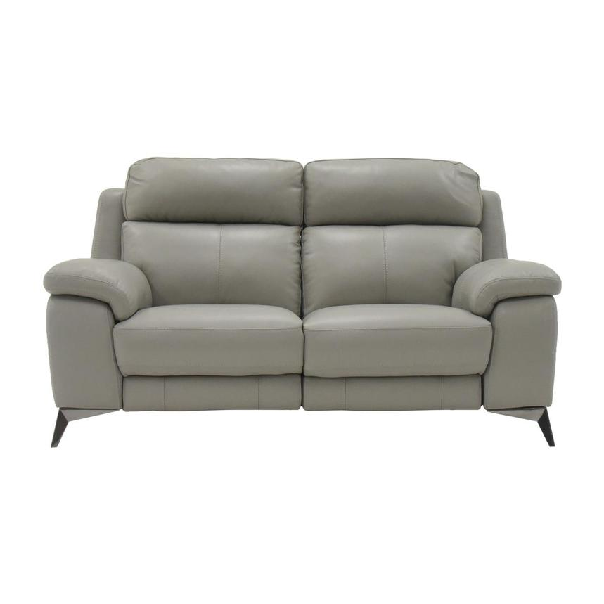 Barry Gray Power Motion Leather Loveseat  main image, 1 of 7 images.
