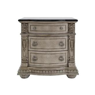 Coventry Silver Nightstand