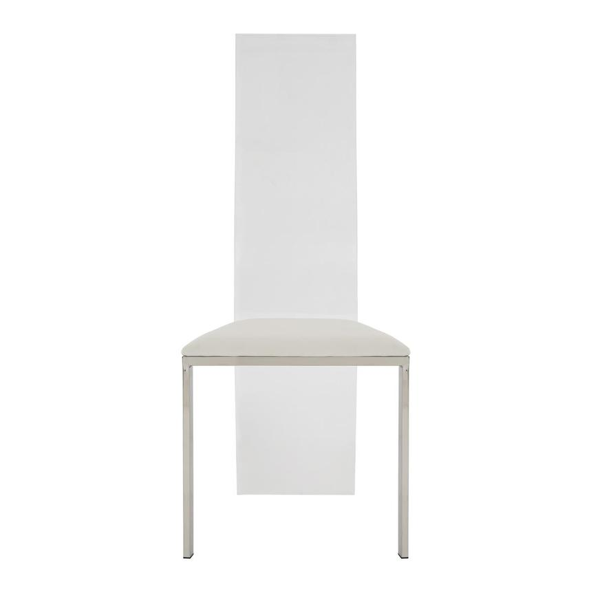 Layra White Side Chair  main image, 1 of 7 images.