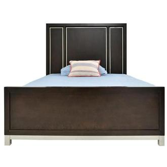 Metro Brown Twin Panel Bed
