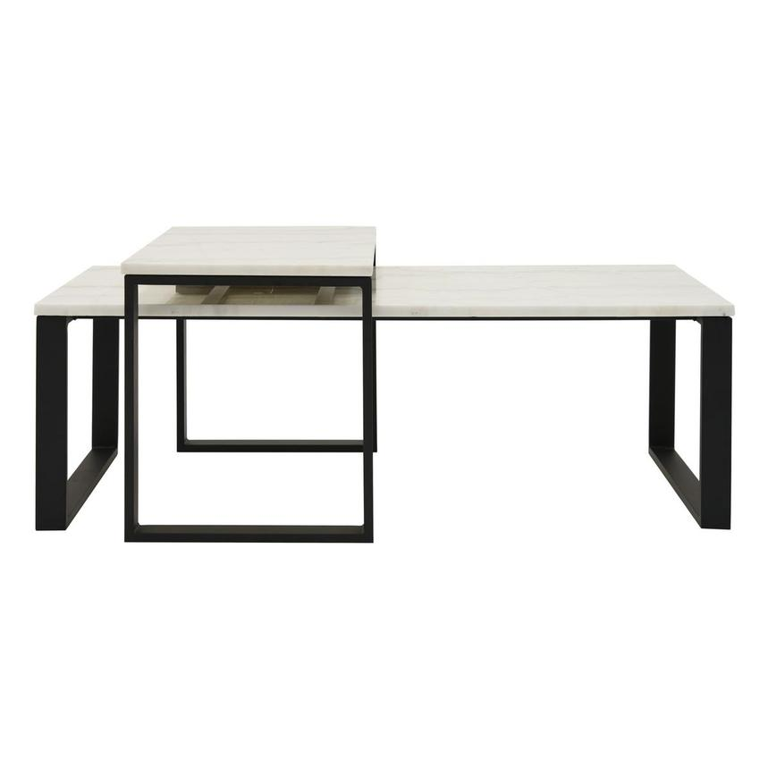 Katrine Marble Coffee Table Set Of 2 Main Image 1 4 Images