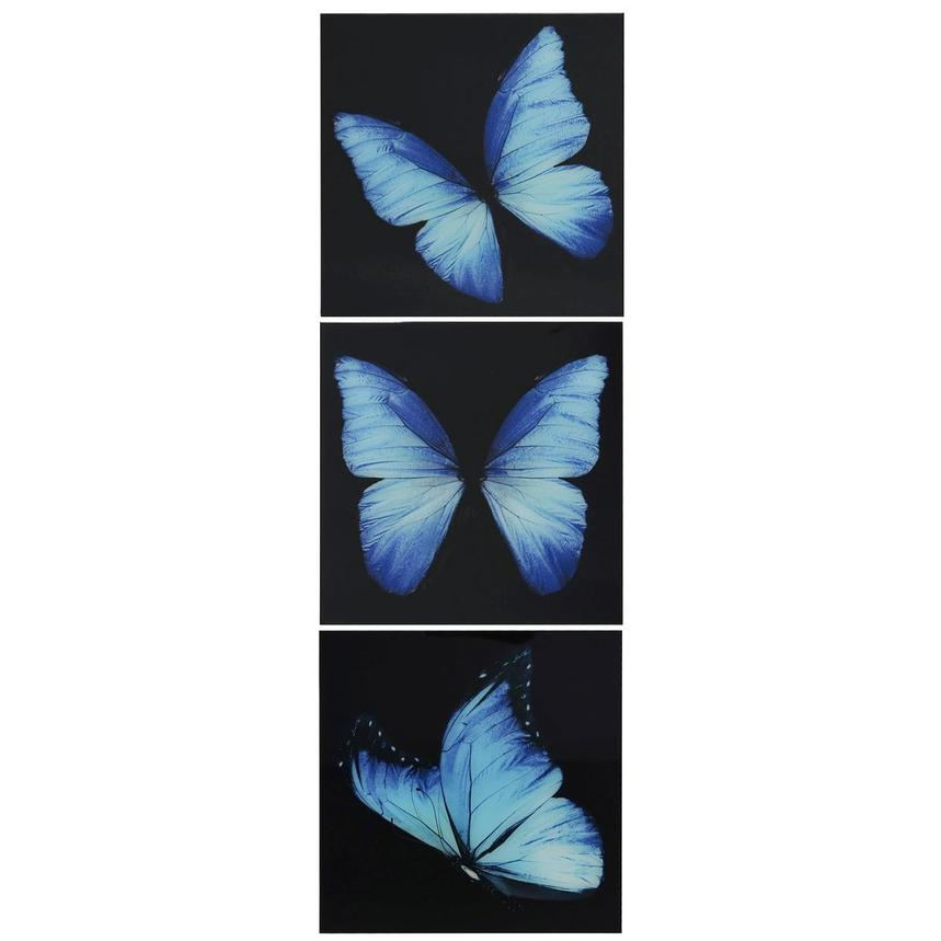 Morpho Set of 3 Acrylic Wall Art  alternate image, 2 of 5 images.