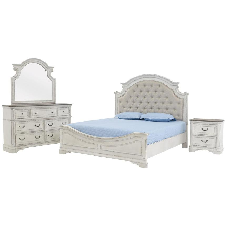 Stevenson Manor 4-Piece Queen Bedroom Set  main image, 1 of 6 images.