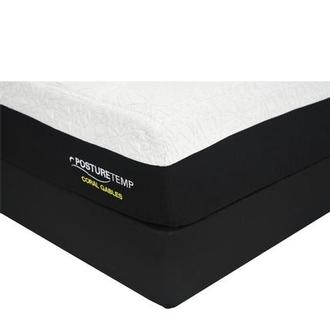 Coral Gables King Memory Foam Mattress w/Low Foundation by Sealy Posturepedic