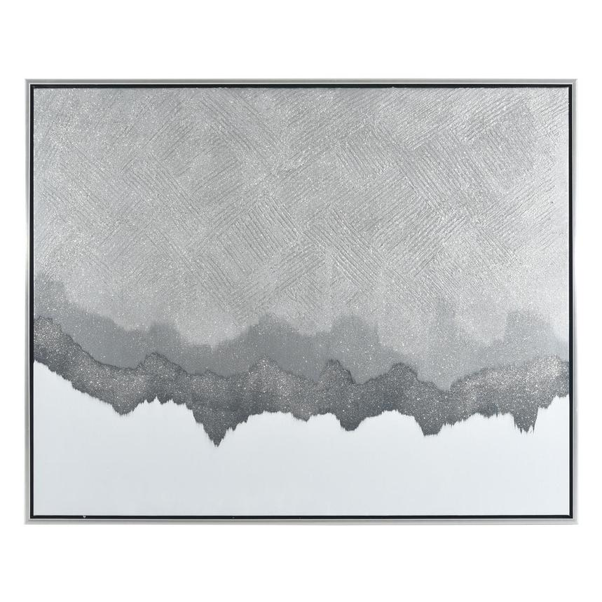 Silver Rock Canvas Wall Art  main image, 1 of 4 images.
