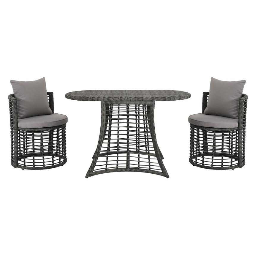 Neilina Gray 3-Piece Patio Bistro Set  main image, 1 of 13 images.