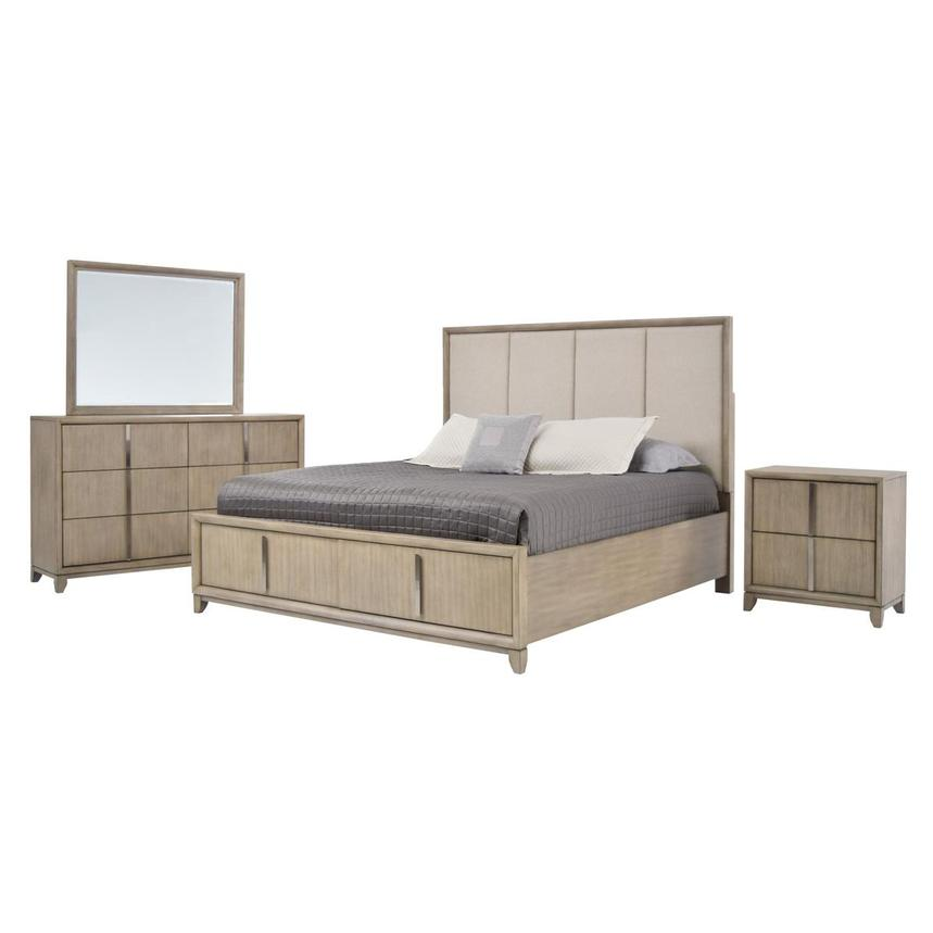 Juliana 4-Piece Queen Bedroom Set  main image, 1 of 6 images.