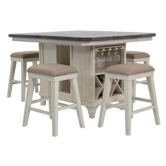 Sammie 5-Piece High Dining Set