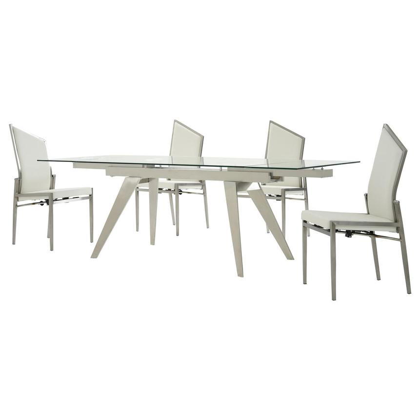 Josie 5-Piece Formal Dining Set  alternate image, 2 of 15 images.