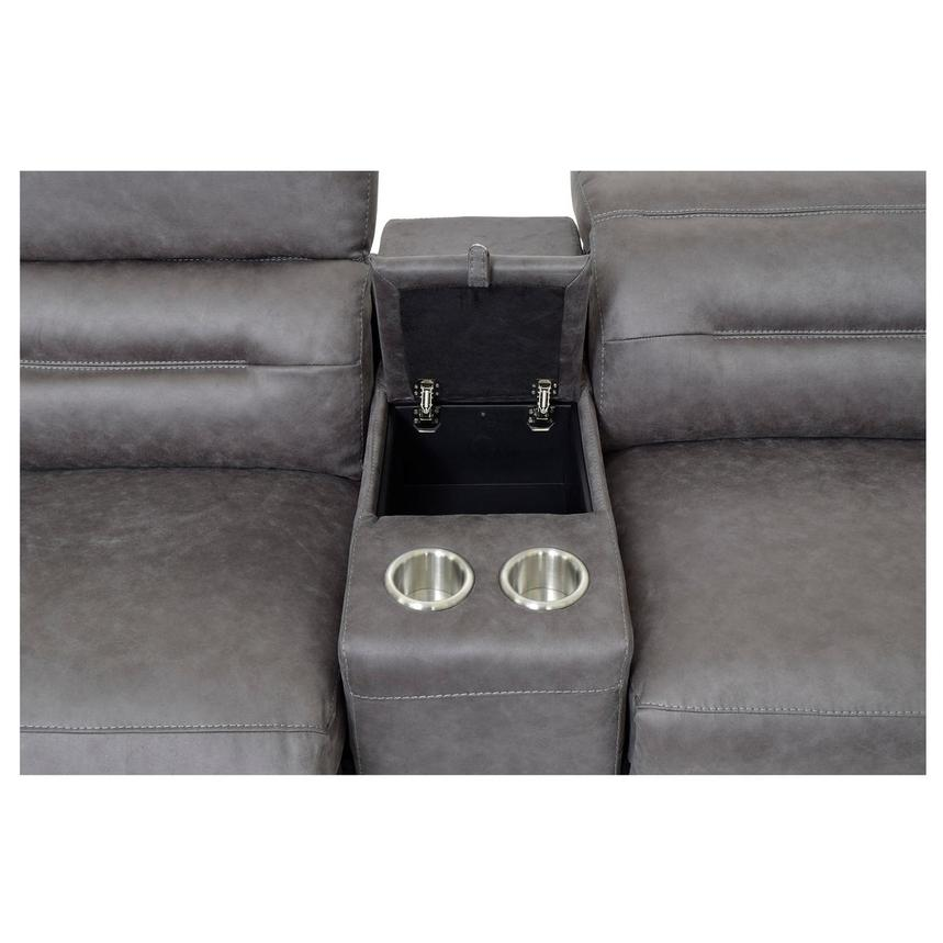 Claribel II Power Motion Sofa w/Right & Left Recliners  alternate image, 6 of 8 images.