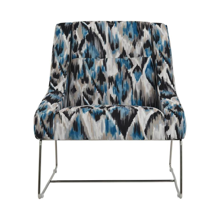Tutti Frutti Blue Accent Chair El Dorado Furniture