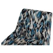 Tutti Frutti Blue Accent Chair w/2 Pillows  alternate image, 6 of 10 images.