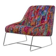 Tutti Frutti Multi Accent Chair w/2 Pillows  alternate image, 3 of 9 images.