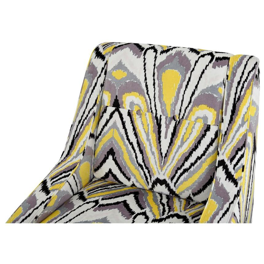 Tutti Frutti Yellow Accent Chair w/2 Pillows  alternate image, 6 of 10 images.