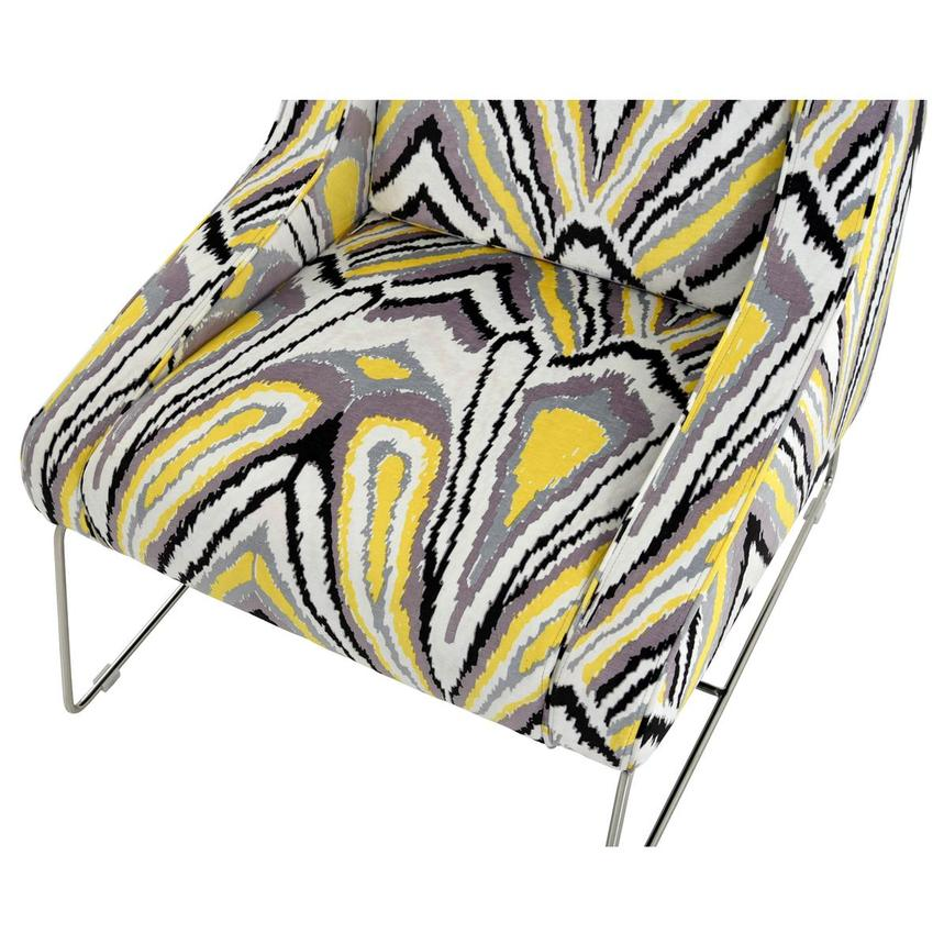 Tutti Frutti Yellow Accent Chair  alternate image, 6 of 7 images.