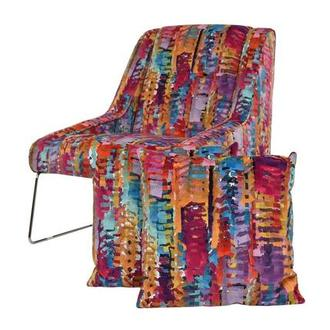Tutti Frutti Multi Accent Chair w/2 Pillows