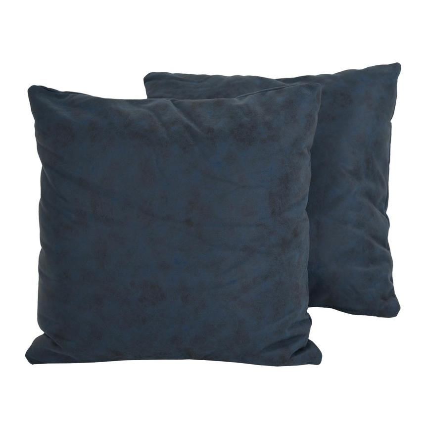 Okru Dark Blue Two Accent Pillows  main image, 1 of 4 images.