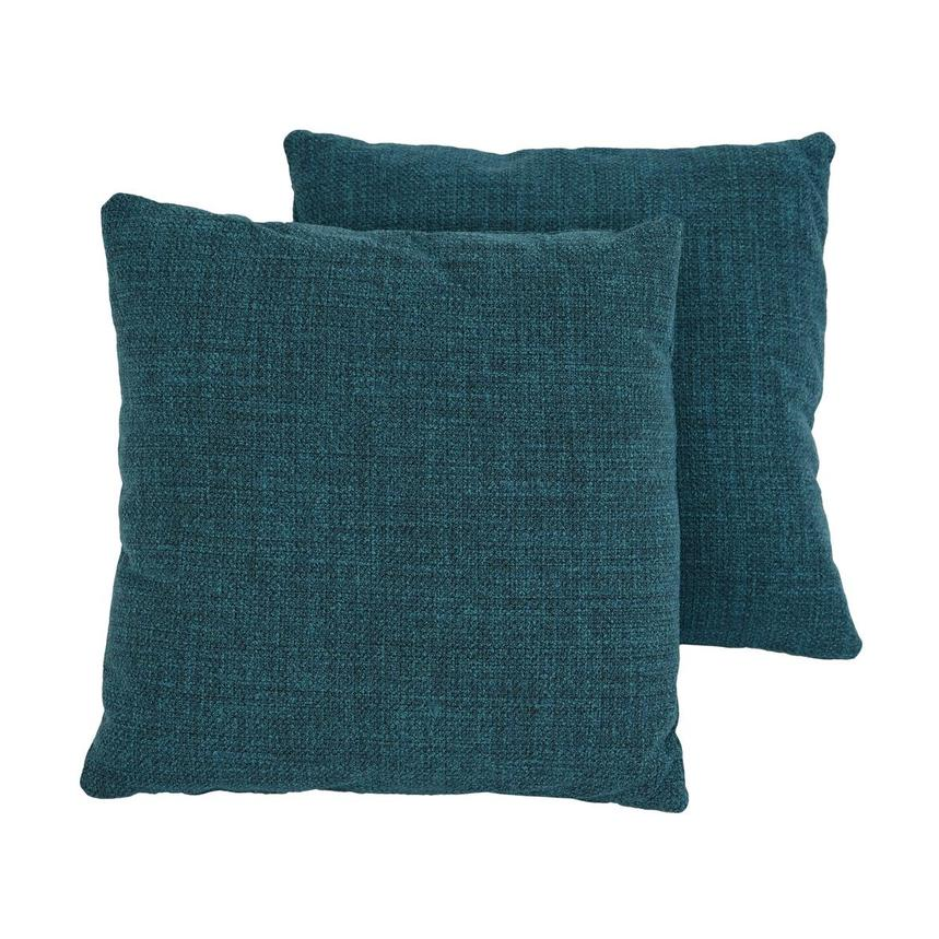 Okru Blue Two Accent Pillows  main image, 1 of 6 images.