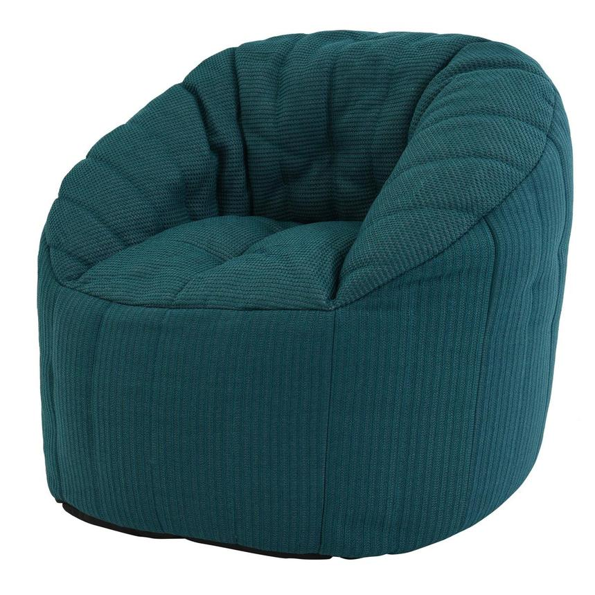 Elements Teal Outdoor Bean Bag  alternate image, 2 of 5 images.
