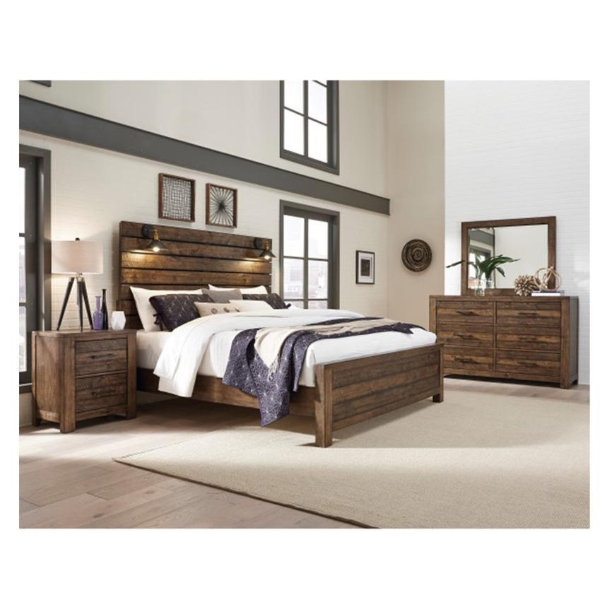Dakota Queen Panel Bed