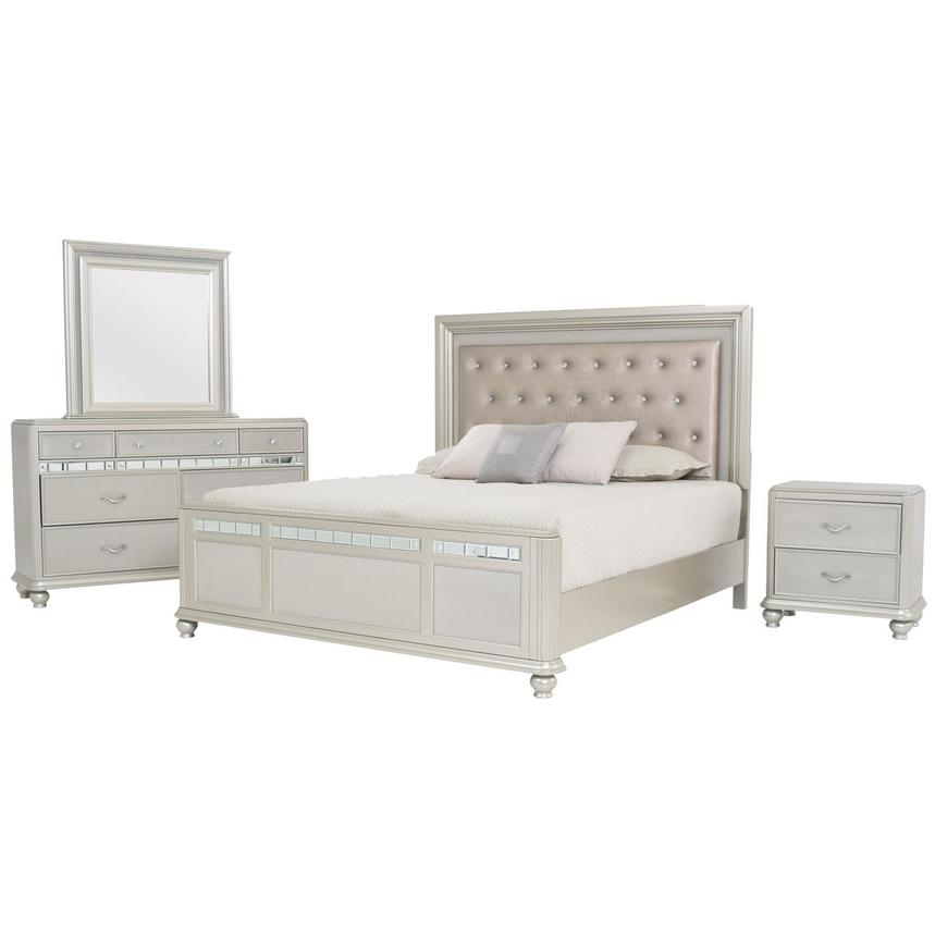 Kaleidoscope 4-Piece King Bedroom Set  main image, 1 of 10 images.