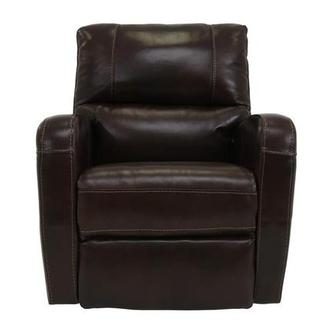 Keegan Chocolate Leather Power Recliner