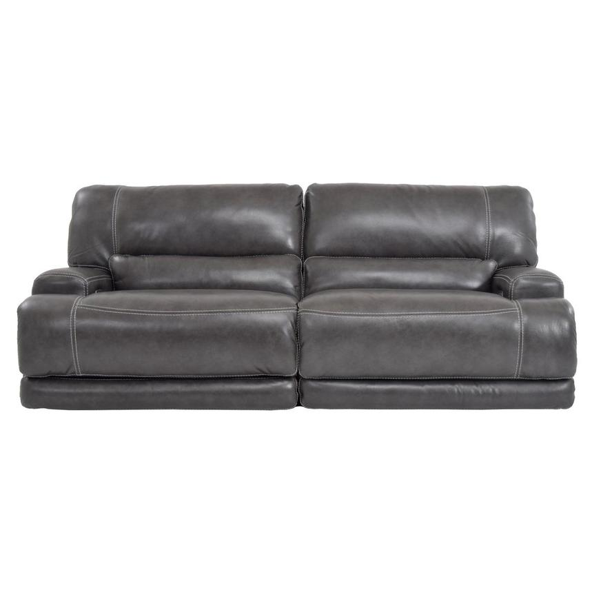 Cody Gray Power Motion Leather Sofa  main image, 1 of 7 images.