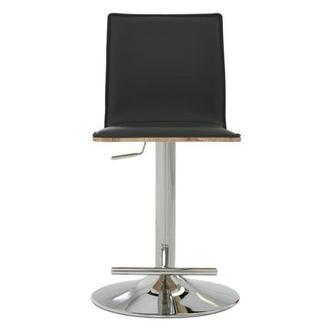 Kadin Taupe Adjustable Stool El Dorado Furniture