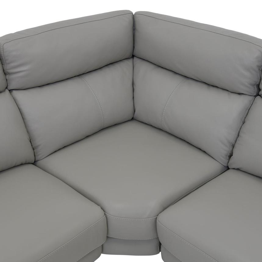 Barry Gray Leather Power Reclining Sectional  alternate image, 10 of 12 images.