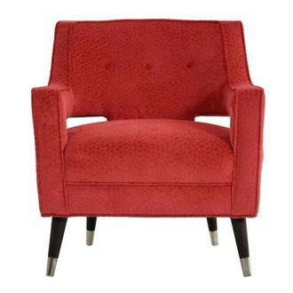 Brooke Red Accent Chair