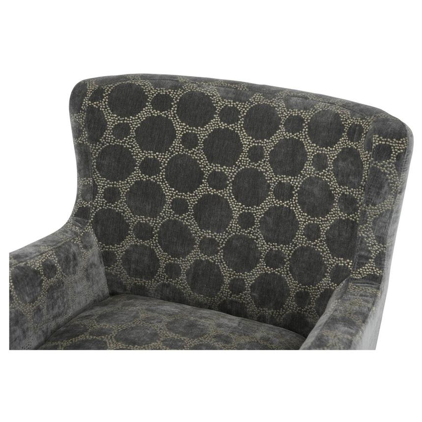 Everly Swivel Accent Chair w/2 Pillows  alternate image, 6 of 11 images.