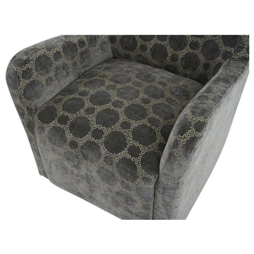 Everly Swivel Accent Chair w/2 Pillows  alternate image, 7 of 11 images.