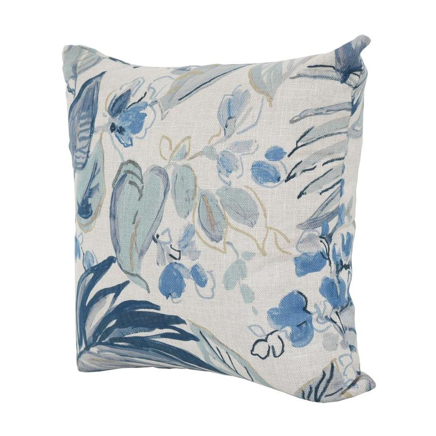 Scarlett Blue Accent Pillow  alternate image, 2 of 3 images.
