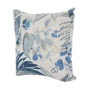 Scarlett Blue Accent Chair w/2 Pillows  alternate image, 10 of 12 images.