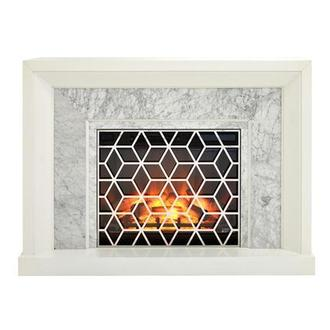 Avery Faux Fireplace w/Remote Control