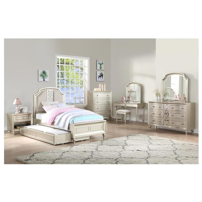 Regency 4-Piece Twin Bedroom Set  alternate image, 2 of 6 images.