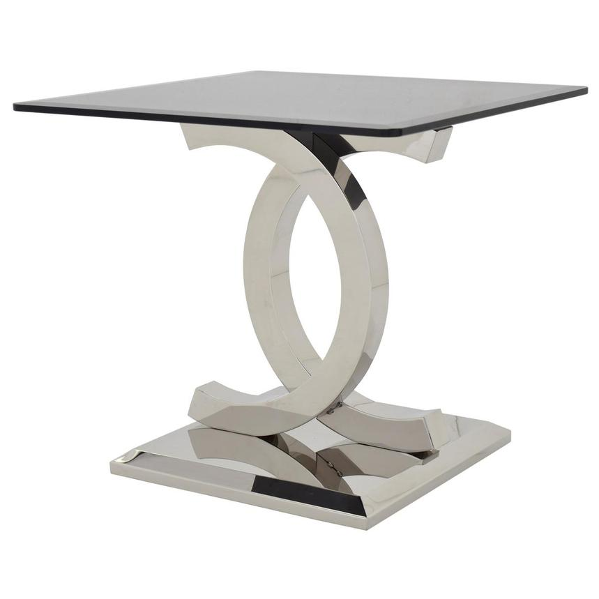 Otti Black Side Table  alternate image, 2 of 6 images.