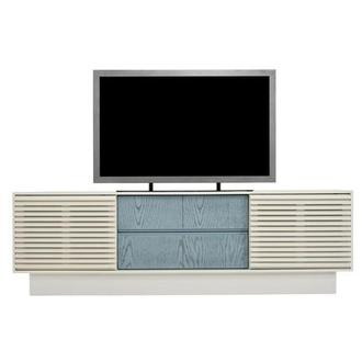 Lala White TV Stand