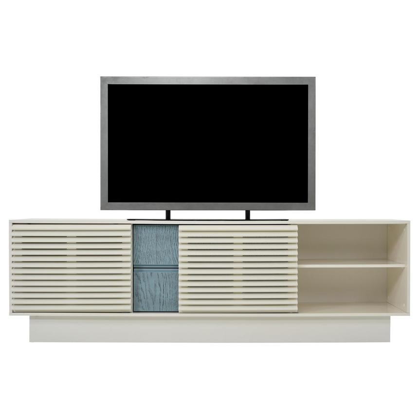 Lala White TV Stand  alternate image, 2 of 10 images.