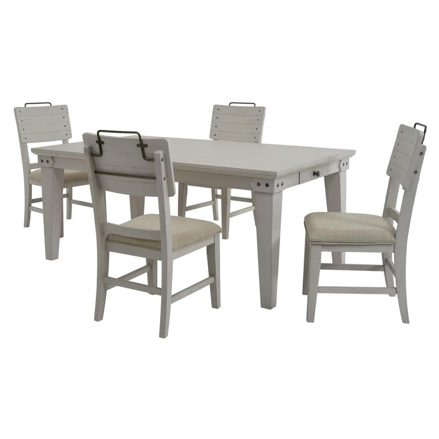 Abalone 5-Piece Casual Dining Set  main image, 1 of 10 images.