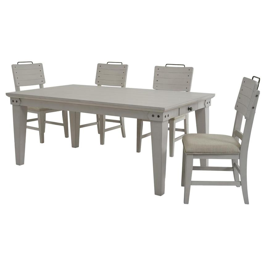 Abalone 5-Piece Casual Dining Set  alternate image, 2 of 13 images.