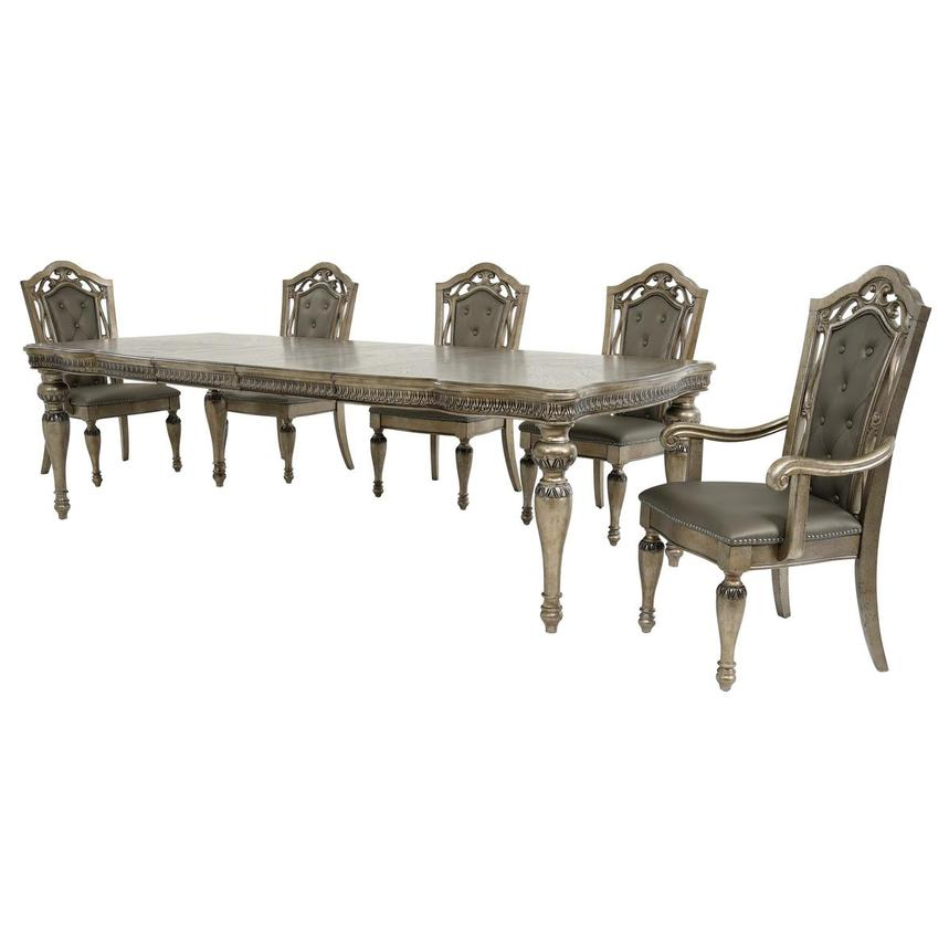 Seville 5-Piece Formal Dining Set  alternate image, 2 of 15 images.