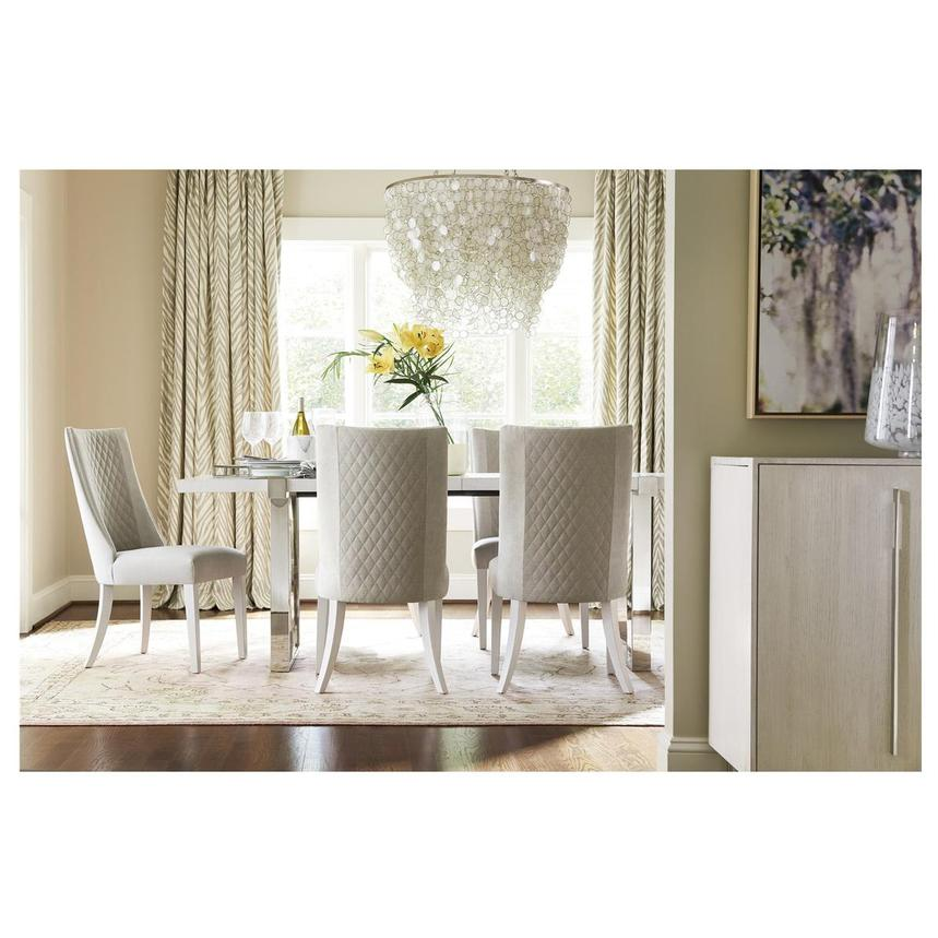 Paradox 5-Piece Formal Dining Set  alternate image, 2 of 14 images.