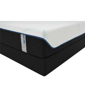 Luxe-Adapt Soft Queen Mattress w/Regular Foundation by Tempur-Pedic
