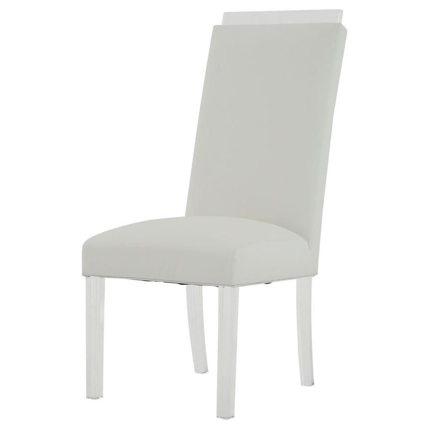 Jass White Side Chair  alternate image, 2 of 8 images.