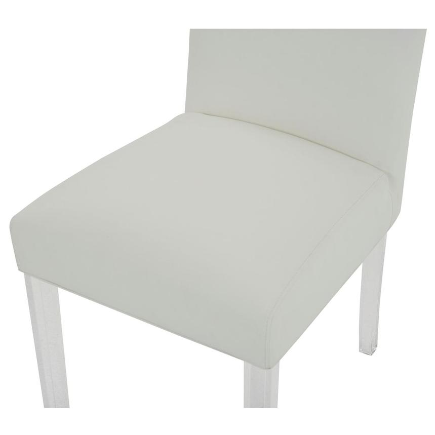 Jass White Side Chair  alternate image, 7 of 8 images.