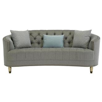 Kimberly Brass Sofa